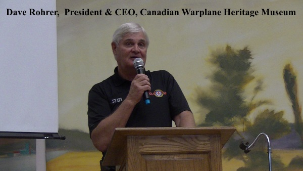 Dave Rohrer, President & CEO, CWHM welcoming Ed