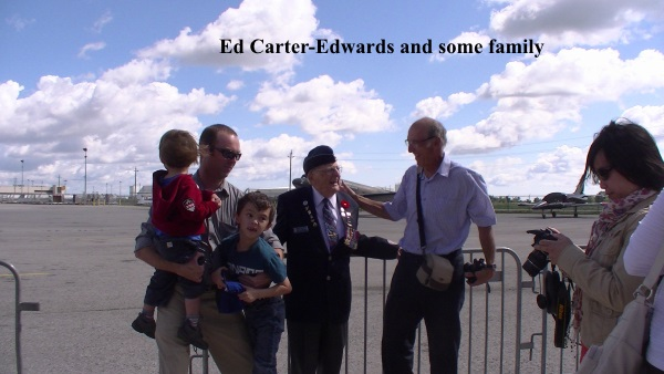 Ed Carter-Edwards and a few family