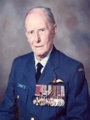 Dudley Burnside in Honourary Colonel uniform