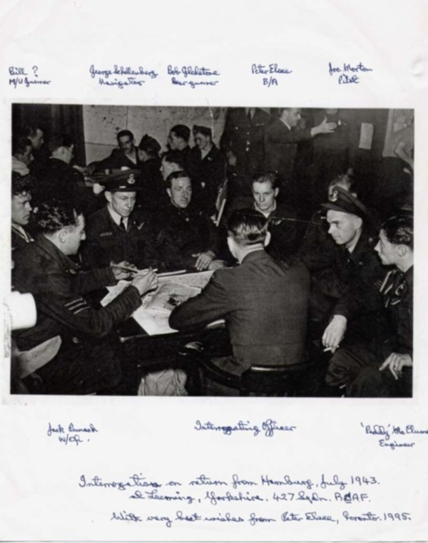 Interrogation after Hamburg raid - July 1943