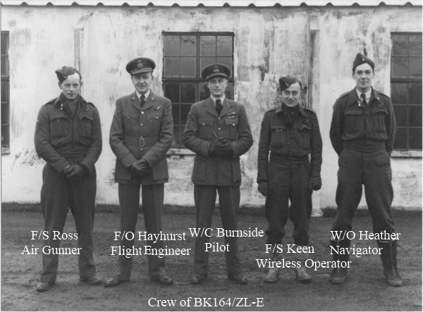 Sgt Keen and crew- ~1942